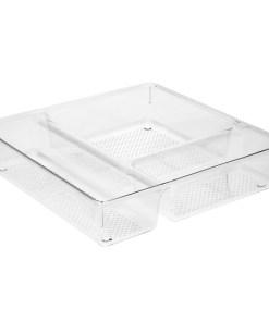 """Organizador de Plastico Para Cajones """"System Nº1""""  23x23x5 cm."""