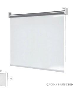 Mampara Cortina Enrollable PVC Transparente