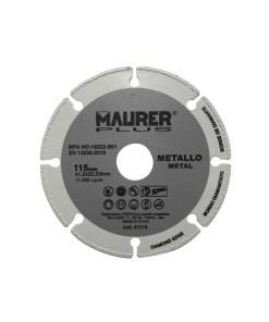 Disco Corte Metales Universal  Ø 115 x 1