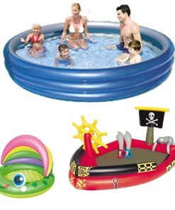 Piscinas infantiles e inflables