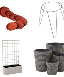 Jardineras / Macetas / Platos