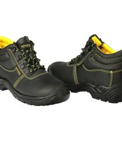 Botas Seguridad S3 Piel Negra Wolfpack  Nº 37 Vestuario Laboral