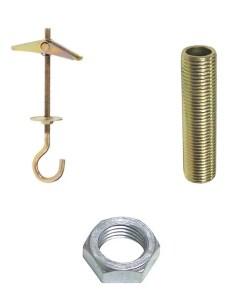 Ganchos lámpara y accesorios