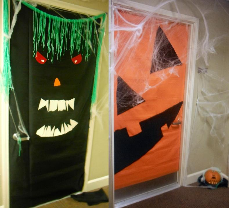 Halloween Door Decorating  Bri's Batch