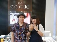 アクレードの結婚指輪をご購入(太田市/K様・A様)