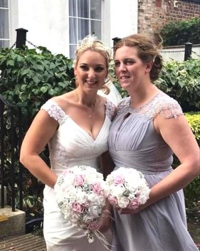 Amanda bouquet wedding photo