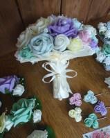 pastel mix bouquets
