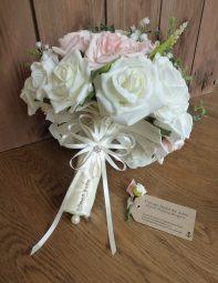 Ivory Silk wedding bouquet