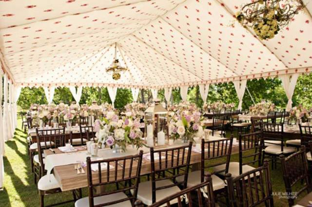 gazebo garden wedding