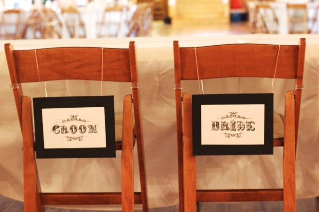Mr and Mrs Chairs