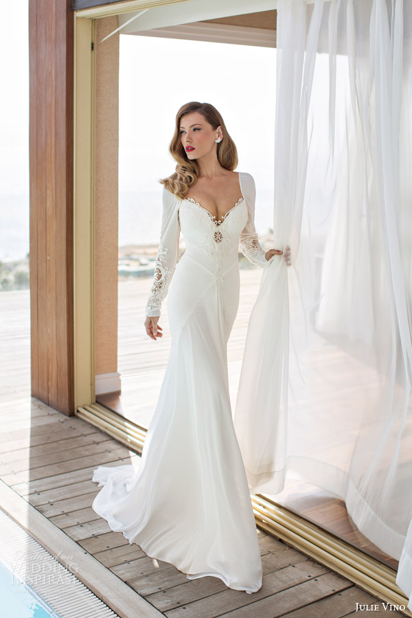 Sleek Satin Wedding Dress