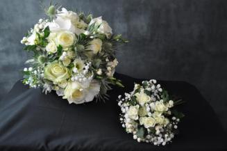 129 Bride & Bridesmaid