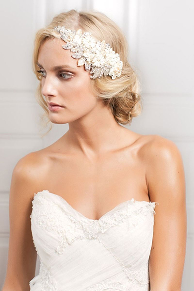 Hairstyles For Strapless Dresses : hairstyles, strapless, dresses, Choosing, Perfect, Wedding, Hairstyle, BridalGuide