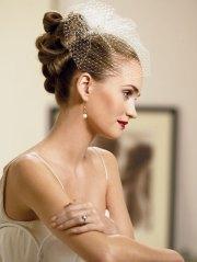 elegant hairstyles bridal