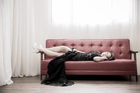 時尚新娘造型 甜美玫瑰妝 通透底妝-新秘Paggie