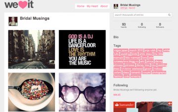 Get Your Geek On: Top sites for finding, collecting & sharing inspirational images online.