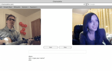 A Chat Roulette Proposal…Is this real?! {Fun & Frolics}