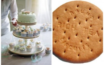The Royal Wedding Cakes: Sugar Flowers vs Rich Tea Biscuits