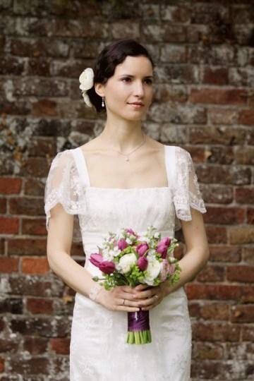 Vintage Style Bride | Rebecca Wedding Photography