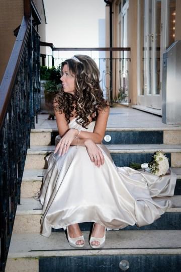 stylish wedding dress | Katherine Ashdown Photography