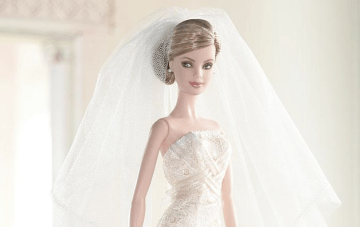 Barbie Wears All The Best Designer Wedding Dresses!
