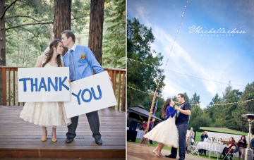 A Whimsical Wedding In The Woods: Hearts, Stars & Harry Potter