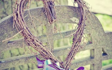 wedding decor heart | sarah janes photography
