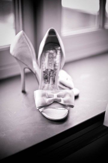 shoes with a bow | Kate's Lens Photography