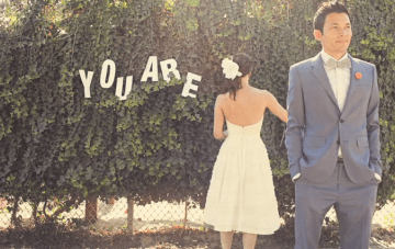 You Are My…? {Cute Stop Motion Wedding Film}