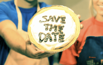 Creative, Unique {& Very Messy} Save The Date Video