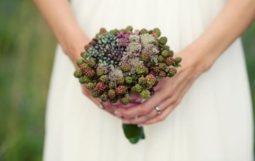 Blackberries and Wildflowers Wedding Inspiration Board