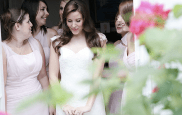 Our Wedding Part 1: Getting Ready With The Girls