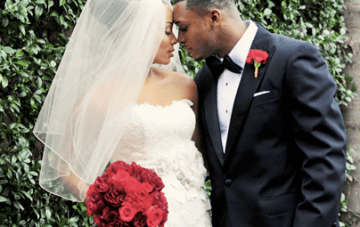 Classically Beautiful Wedding: Bow Ties, Diamonds & Red Roses