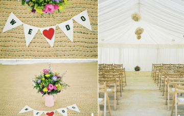 rustic wedding ceremony details | ashton jean pierre