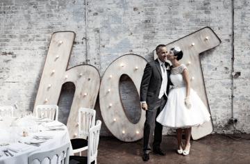 1960s style wedding dress | nick tucker photography