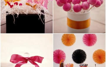 pink and orange dessert table   studio 1208
