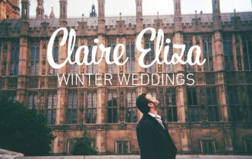Claire Eliza UK Winter Wedding Photography Offer
