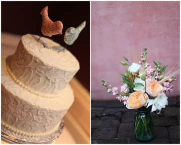 rustic white wedding cake bird toppers | esther louise photography
