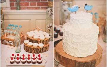 rustic white wedding cake   sweet little photographs