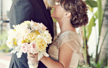 Rustic Glamour: A California Beach & Bling Wedding Part 1