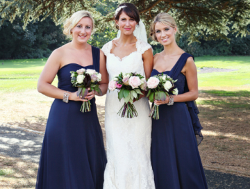 navy blue bridesmaid dresses   exhibit emotions