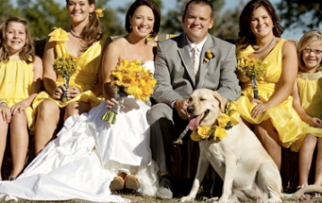 Modern, Rustic, Vintage, Yellow & Grey Ranch Wedding Part 2