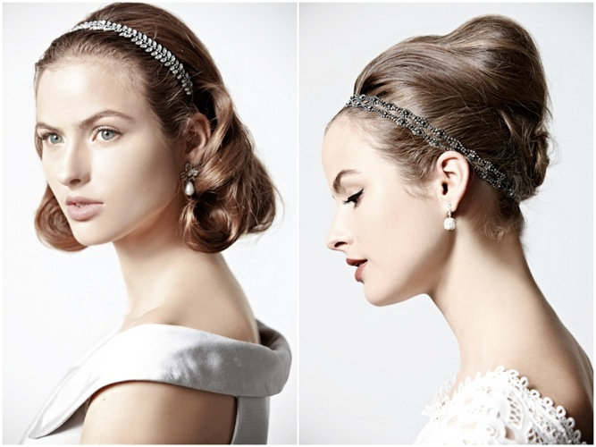 Bridal Hairstyle How Tos From BHLDN
