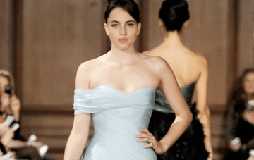 Wedding Dress Of The Week: Pale Blue RK264 By Romona Keveza