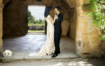 A Wedding Full Of Glamour And Grace in A French Chateau