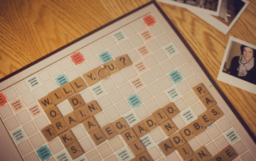 Sweet Scrabble Proposal Video
