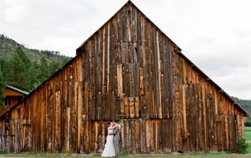 Into The Woods ~ Rustic, Barn Wedding Inspiration