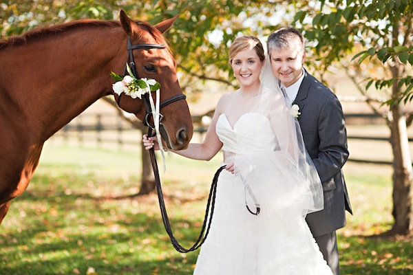 Chic And Classy Equestrian Themed Wedding