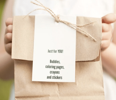 What To Include In A Childs Wedding Activity Pack