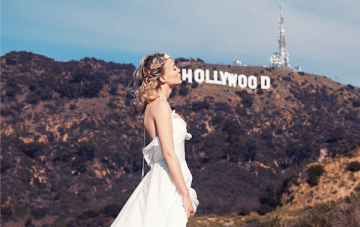 Lovely In LA: A Hollywood Inspired Bridal Shoot